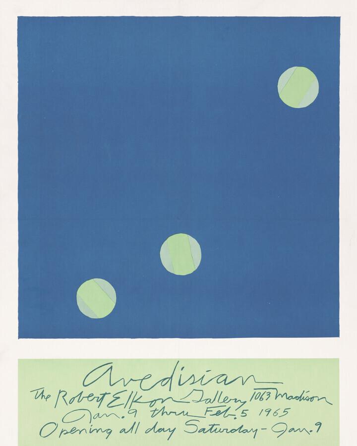 Edward Avedisian exhibition poster - Fineart photography by Art Classics