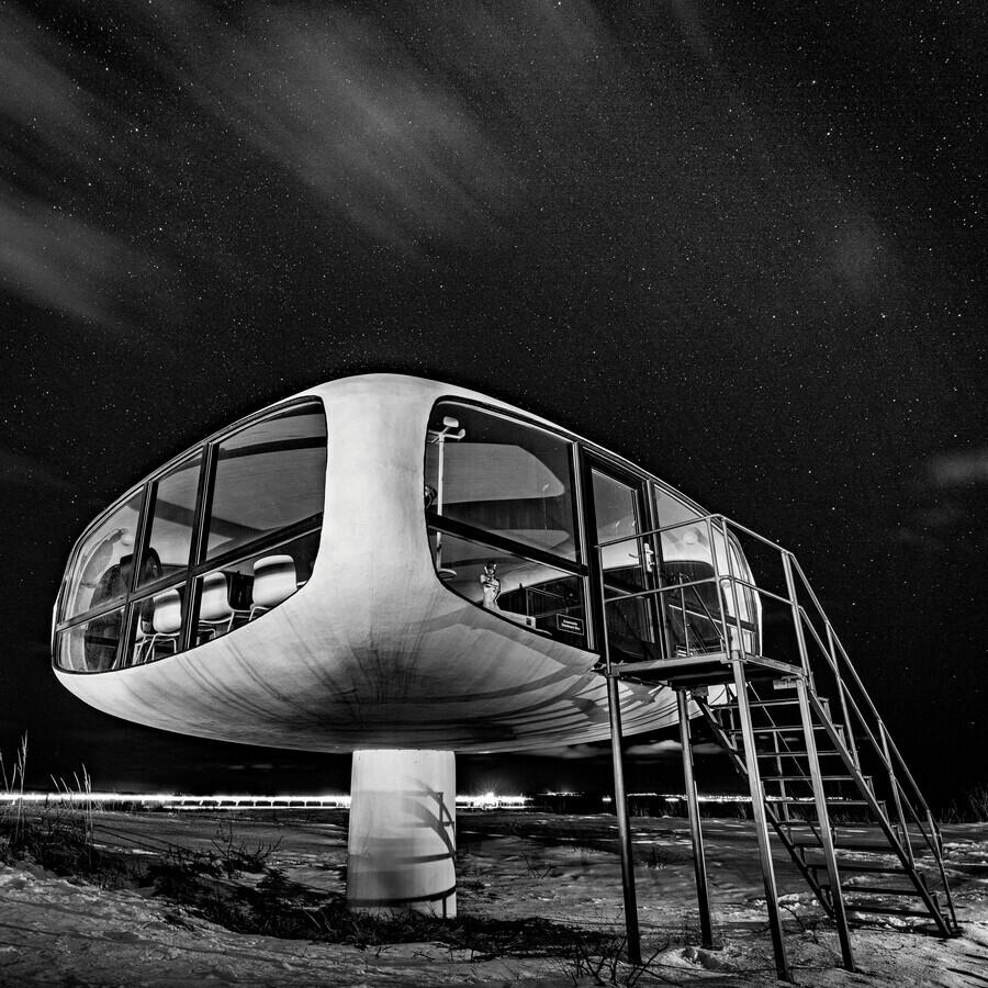 Müther-Turm # IVsw - fotokunst von J. Daniel Hunger
