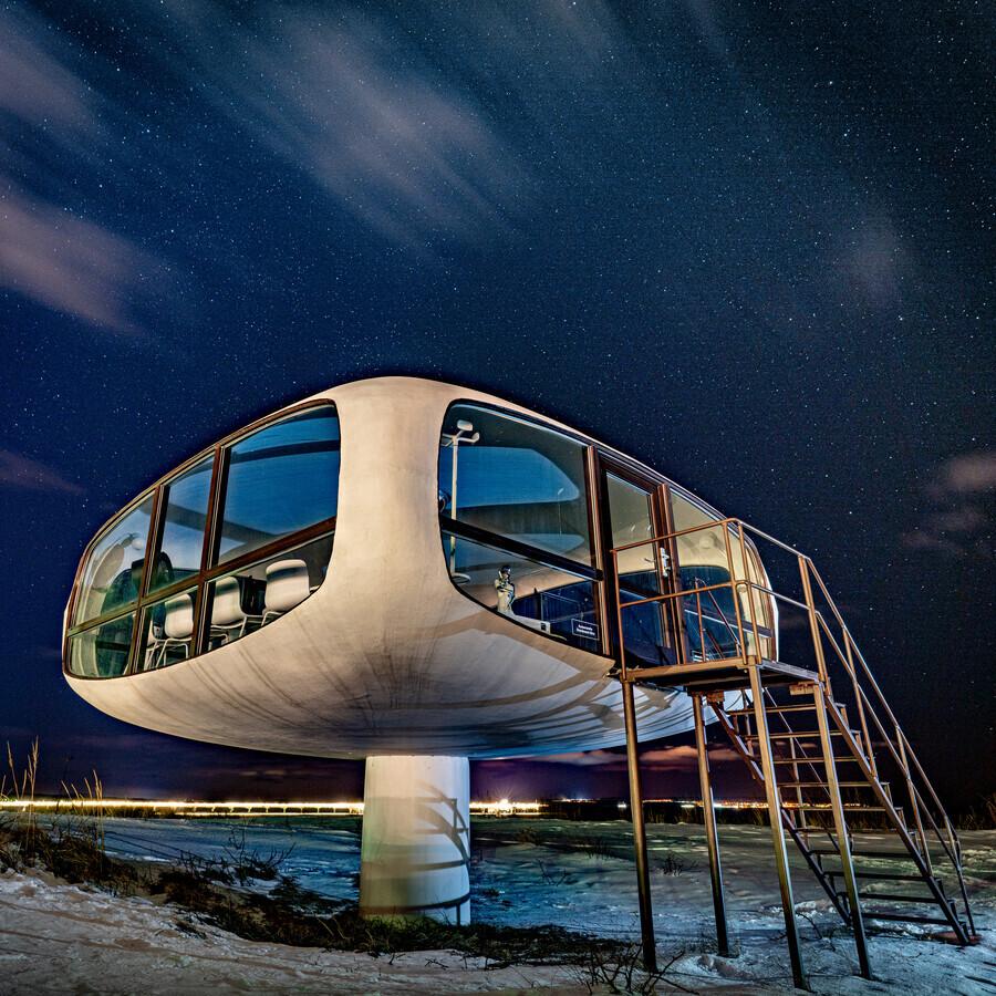 Müther-Turm #IV - fotokunst von J. Daniel Hunger