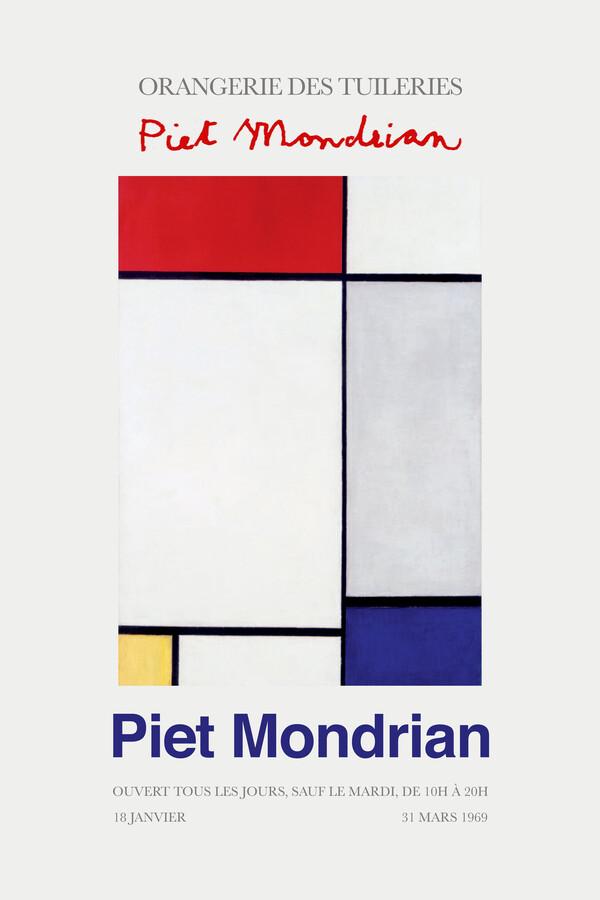 Piet Mondrian – Orangerie des Tuileries - Fineart photography by Art Classics