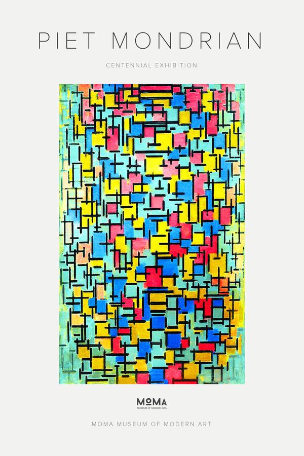Piet Mondrian – Centennial Exhibition – MOMA - Fineart photography by Art Classics