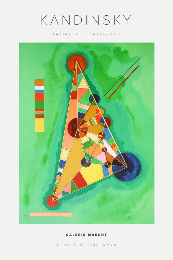 Kandinsky - Bauhaus Dessau 1927-1933 - fotokunst von Art Classics