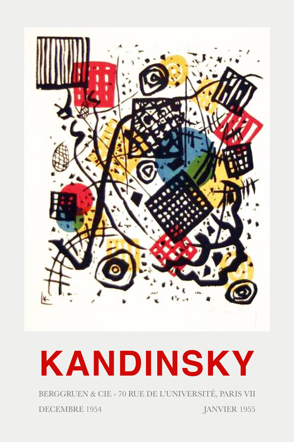 Kandinsky - Berggruen & Cie - Fineart photography by Art Classics