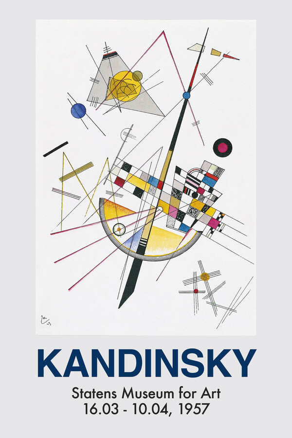 Kandinsky exhibition poster - Fineart photography by Art Classics