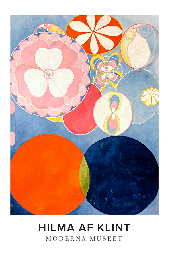 Hilma af Klint exhibition poster - Fineart photography by Art Classics