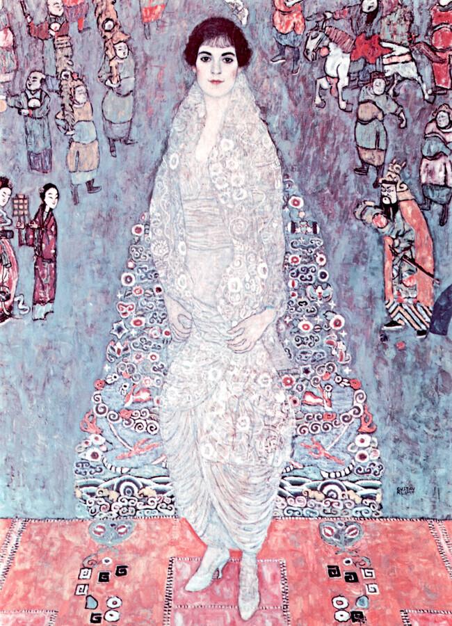 Gustav Klimt: Portrait of the Baroness Elisabeth Bachofen-Echt - Fineart photography by Art Classics