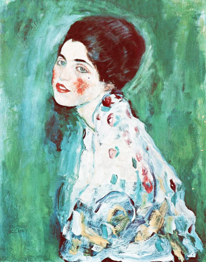 Gustav Klimt: Portrait of a Lady - Fineart photography by Art Classics