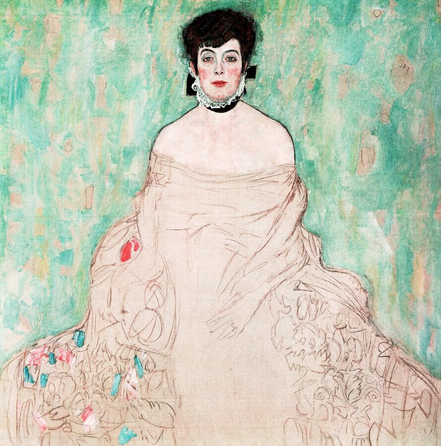 Gustav Klimt: Amalie Zuckerkandl - Fineart photography by Art Classics