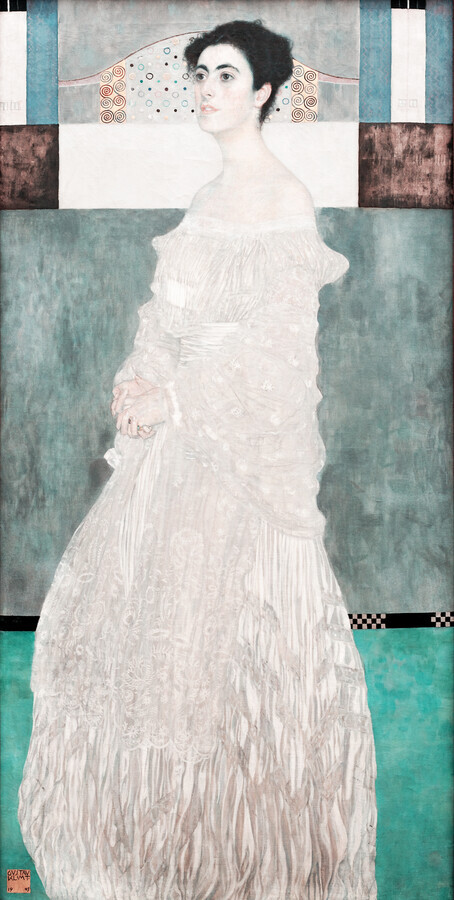 Gustav Klimt: Portrait of Margaret Stonborough-Wittgenstein - Fineart photography by Art Classics