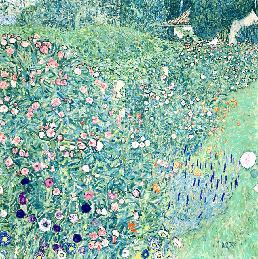 Gustav Klimt: Italian garden landscape - Fineart photography by Art Classics