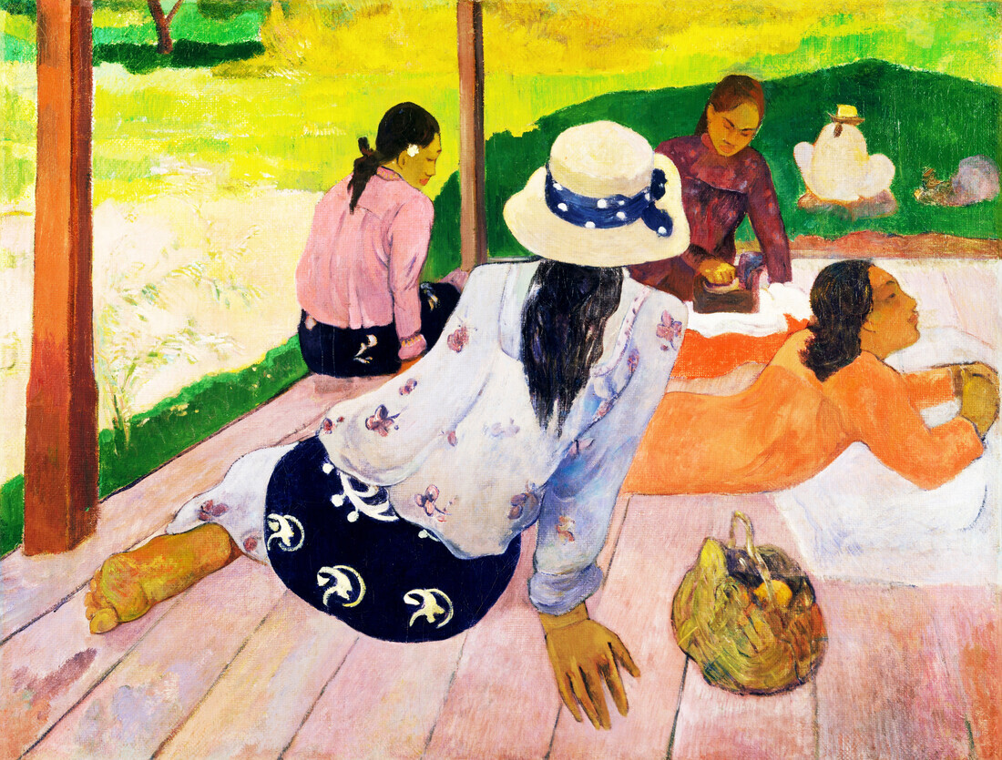 The Siesta by Paul Gauguin - Fineart photography by Art Classics