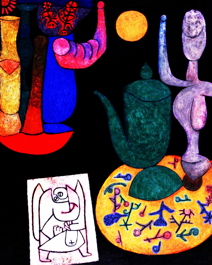 Paul Klee: Untitled - Fineart photography by Art Classics