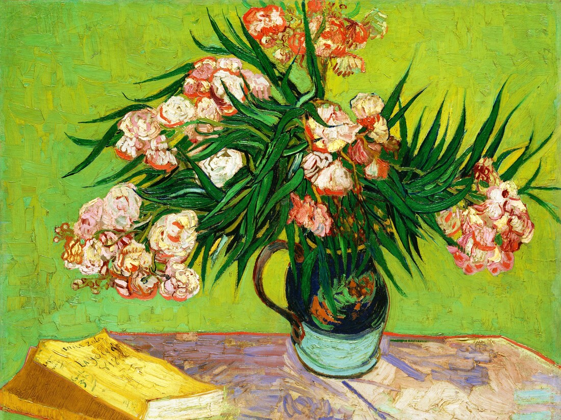 Oleanders by Vincent van Gogh - Fineart photography by Art Classics