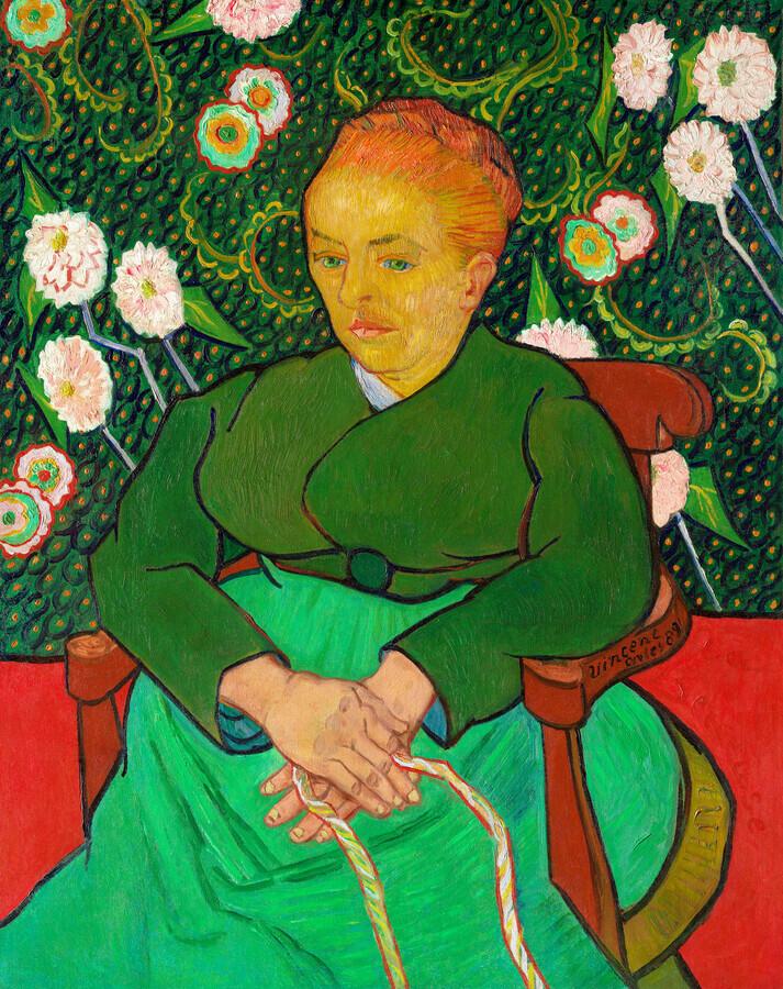 La Berceuse by Vincent van Gogh - Fineart photography by Art Classics