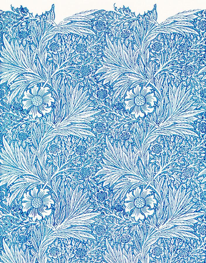 William Morris: Blue Merigold - Fineart photography by Art Classics