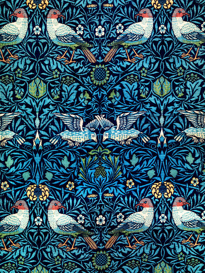 William Morris: Birds 2 - Fineart photography by Art Classics