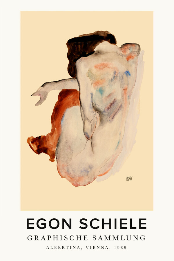Egon Schiele - Graphic Collection - Fineart photography by Art Classics