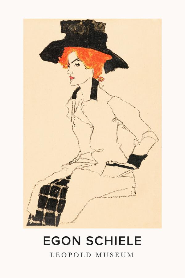 Egon Schiele - Leopold Museum - fotokunst von Art Classics