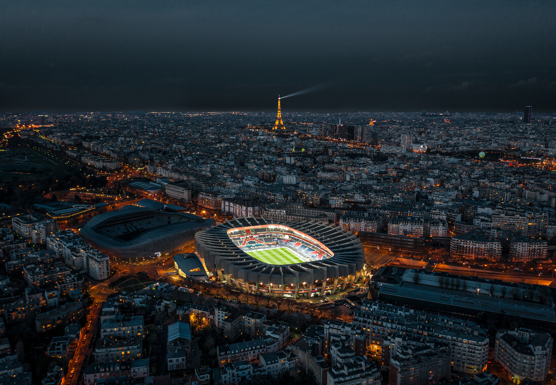 Our magnificent Parisian stadium - Fineart photography by Georges Amazo