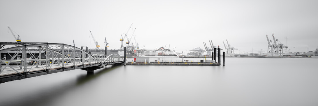 Hamburg Harbour View - Fineart photography by Dennis Wehrmann