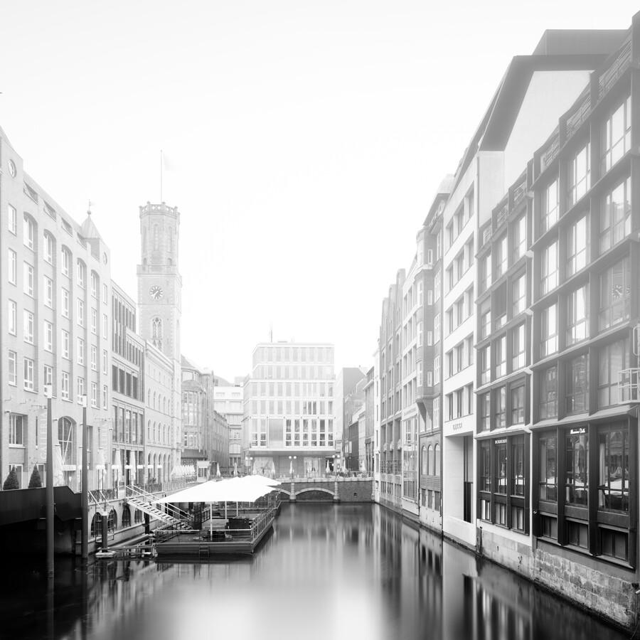 Hamburg Cityscape - Bleichensteg - Fineart photography by Dennis Wehrmann