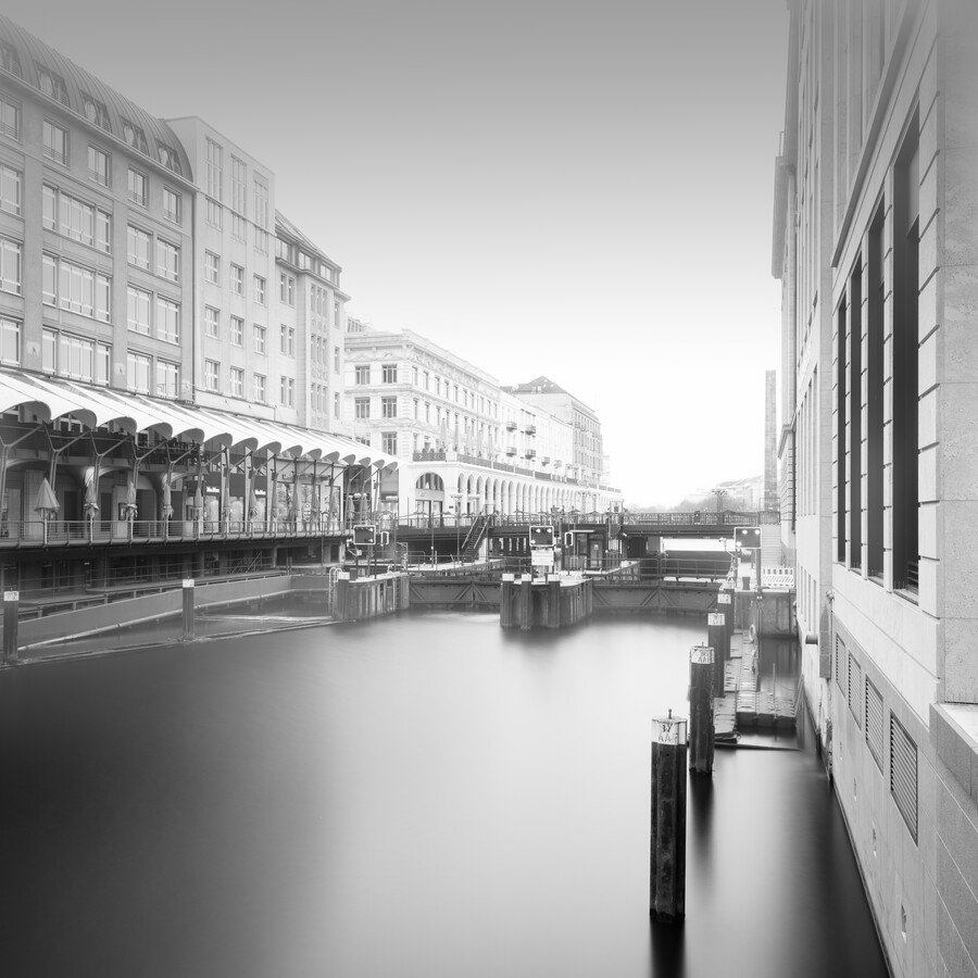Hamburg Cityscape - Alsterarkaden - Fineart photography by Dennis Wehrmann