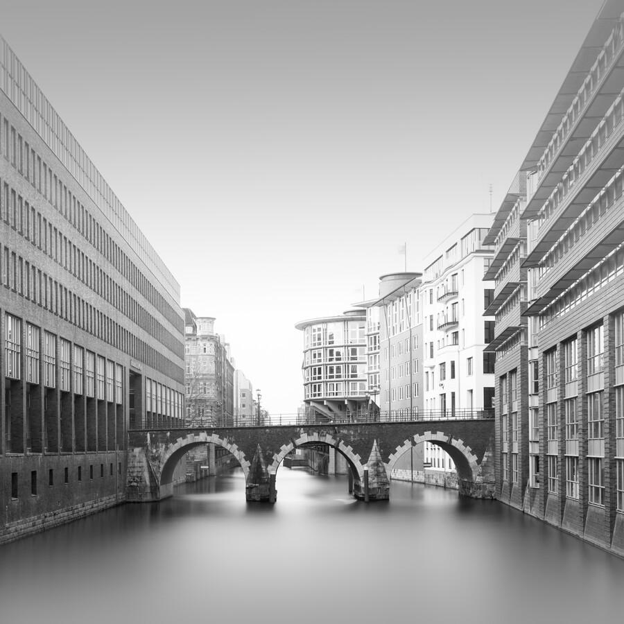 Hamburg Cityscape - Ellerntorsbrücke - Fineart photography by Dennis Wehrmann