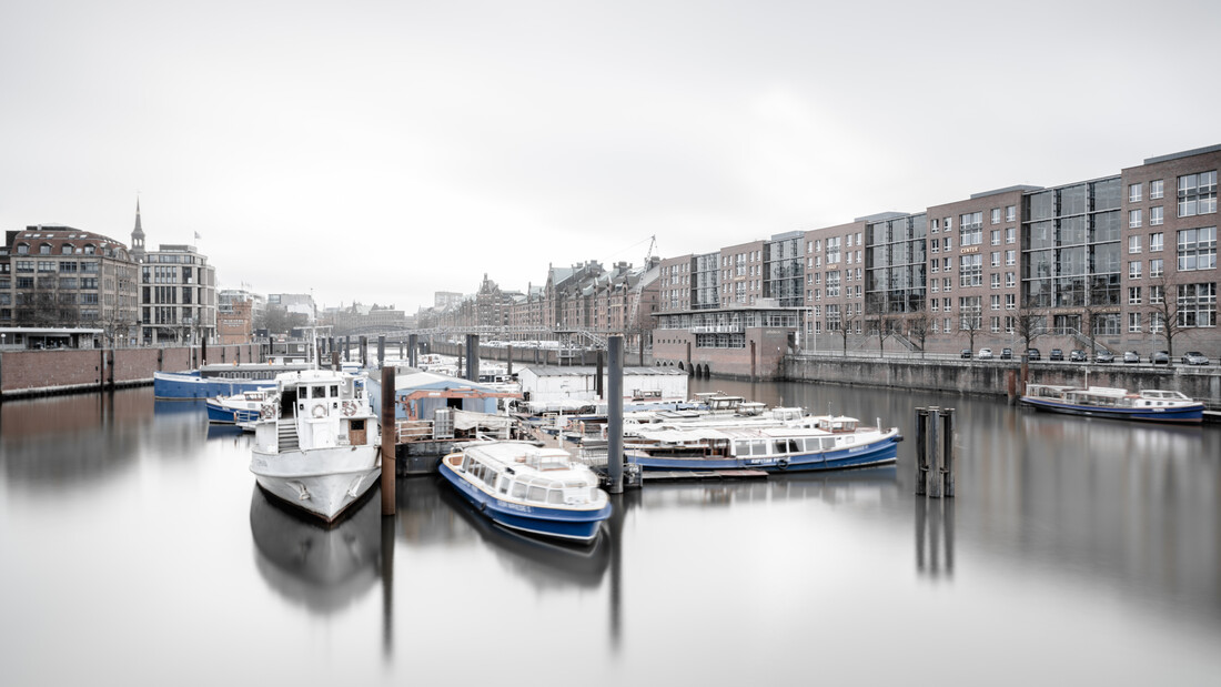 Hamburg Cityscape - Inland Harbour Warehouse District - Fineart photography by Dennis Wehrmann