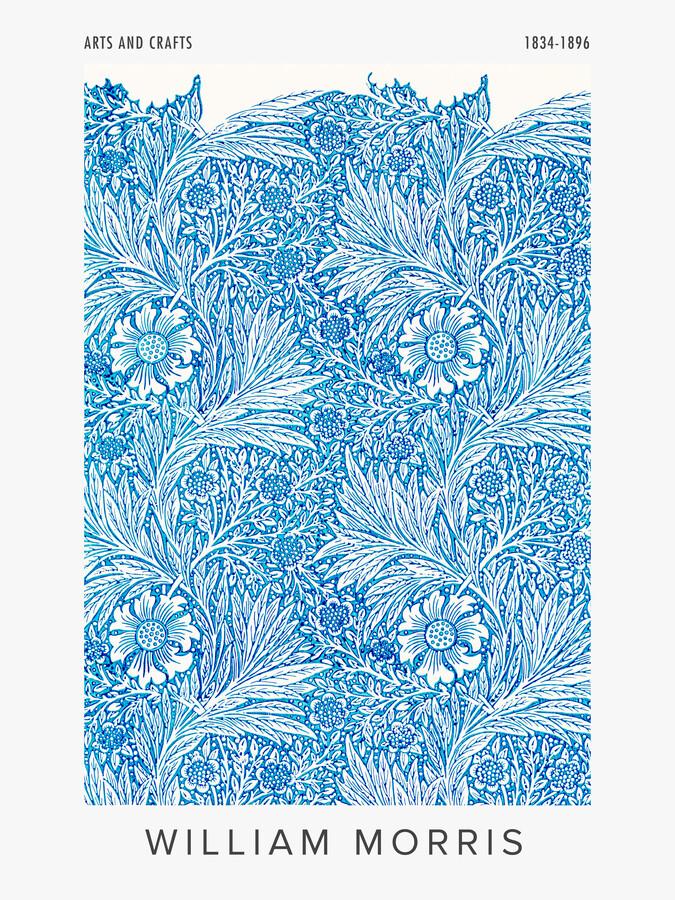 William Morris: Ausstellungsposter Arts and Crafts - fotokunst von Art Classics