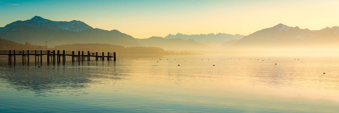 Chiemsee Panorama - Fineart photography by Martin Wasilewski