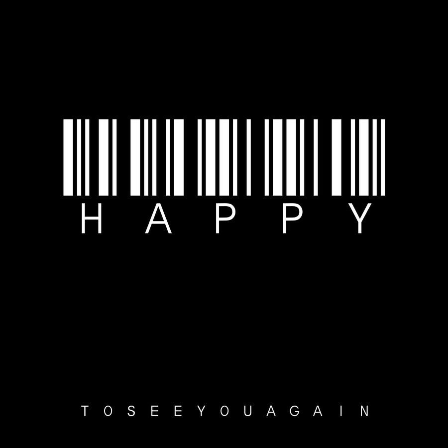 barcode happy - fotokunst von Steffi Louis