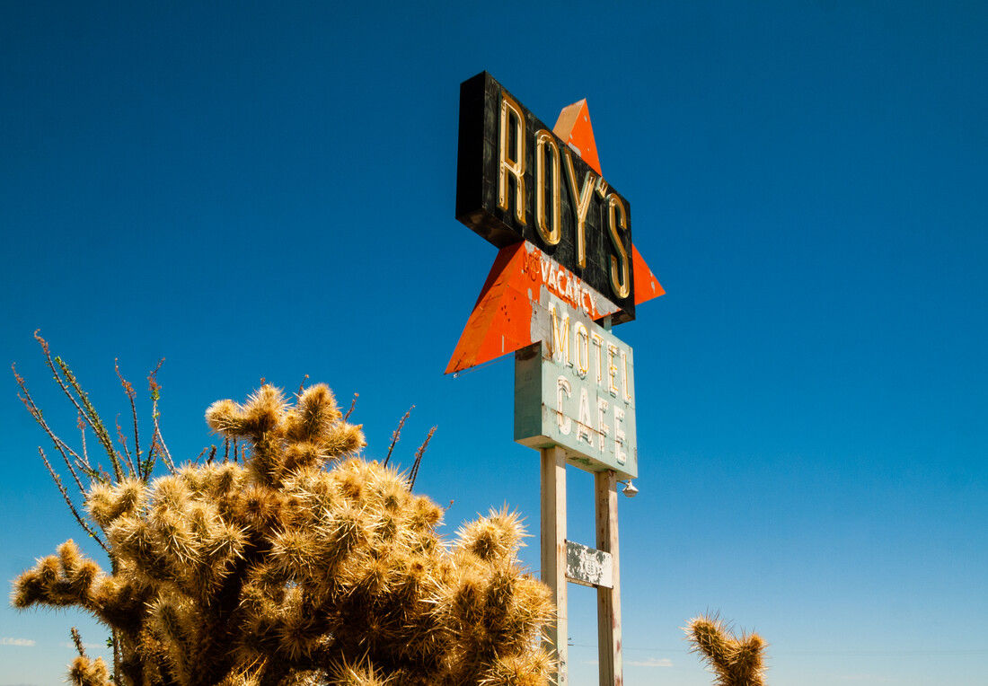 California Route 66 - Roy's Motel & Cafe - Fineart photography by Aurica Voss