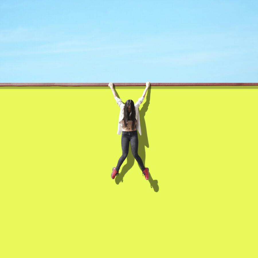 Let you fall - fotokunst von Pascal Krumm