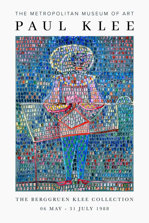 The Berggruen Klee Collection - fotokunst von Art Classics