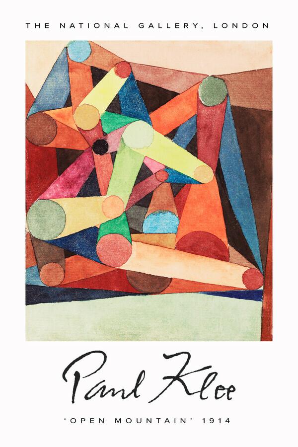 Open Mountain by Paul Klee - fotokunst von Art Classics