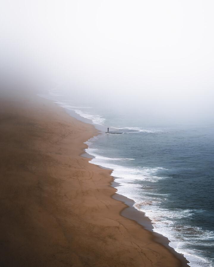 Foggy coast - Fineart photography by Marvin Walter