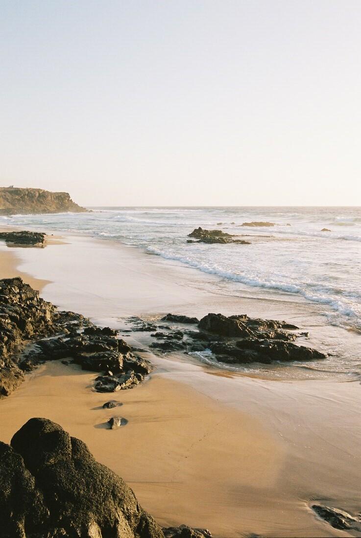 SUNSET BEACH - fotokunst von Fabian Heigel