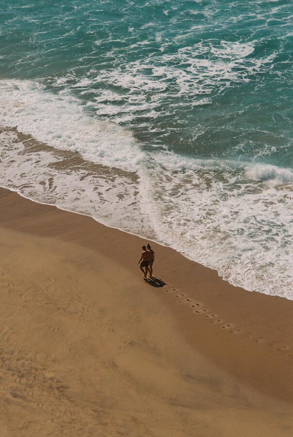 BEACH WALK - fotokunst von Fabian Heigel
