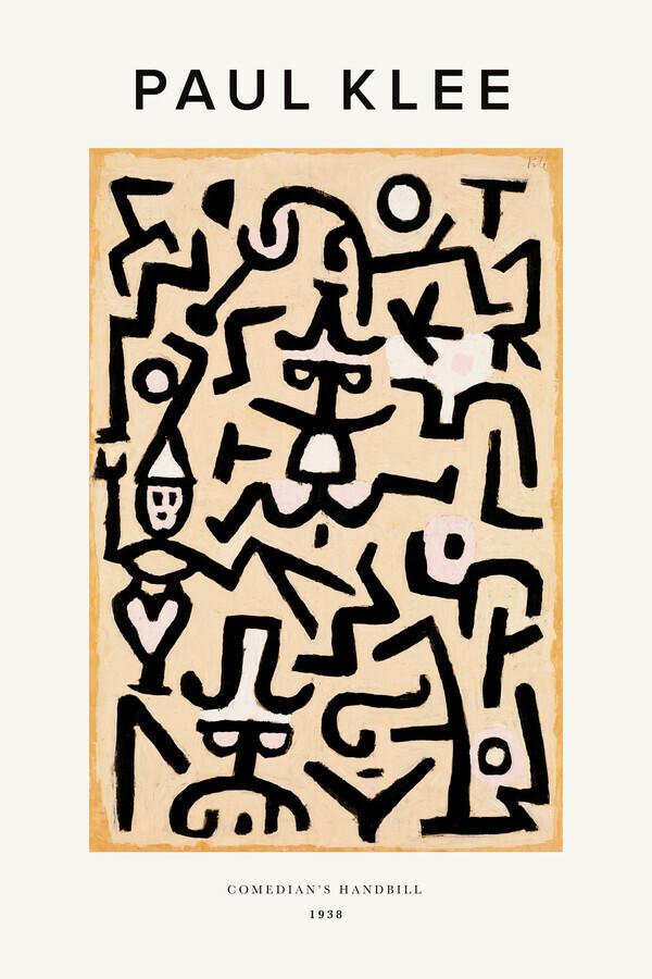 Paul Klee Comedians Handbill - Fineart photography by Art Classics