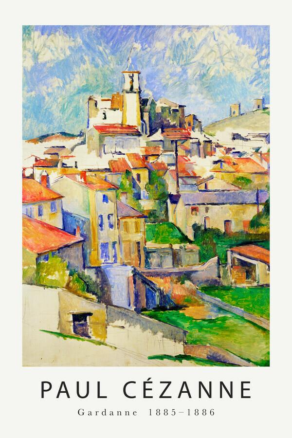 Gardanne von Paul Cézanne - fotokunst von Art Classics