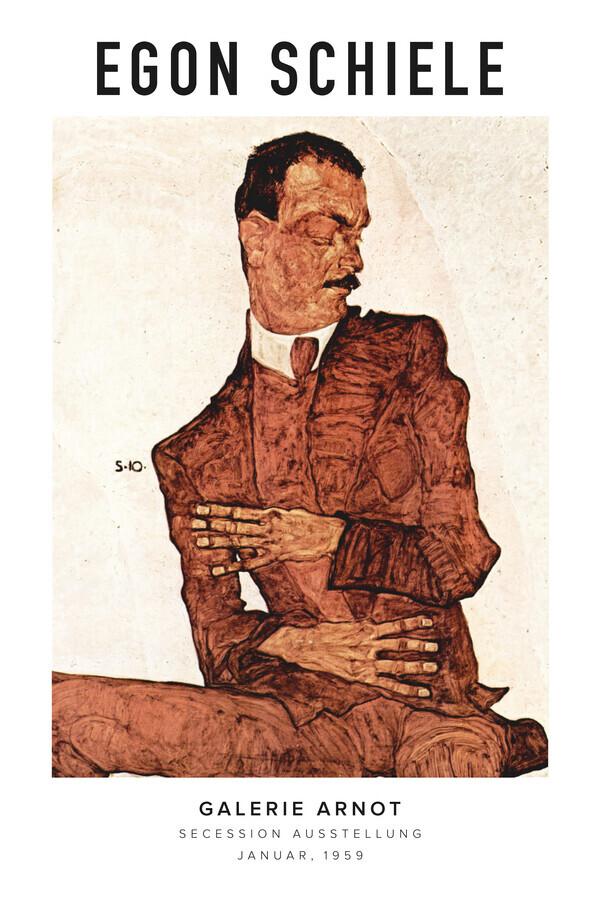 Egon Schiele in der Galerie Arnot - Fineart photography by Art Classics
