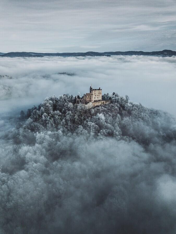 Cloud castle - Fineart photography by Patrick Monatsberger