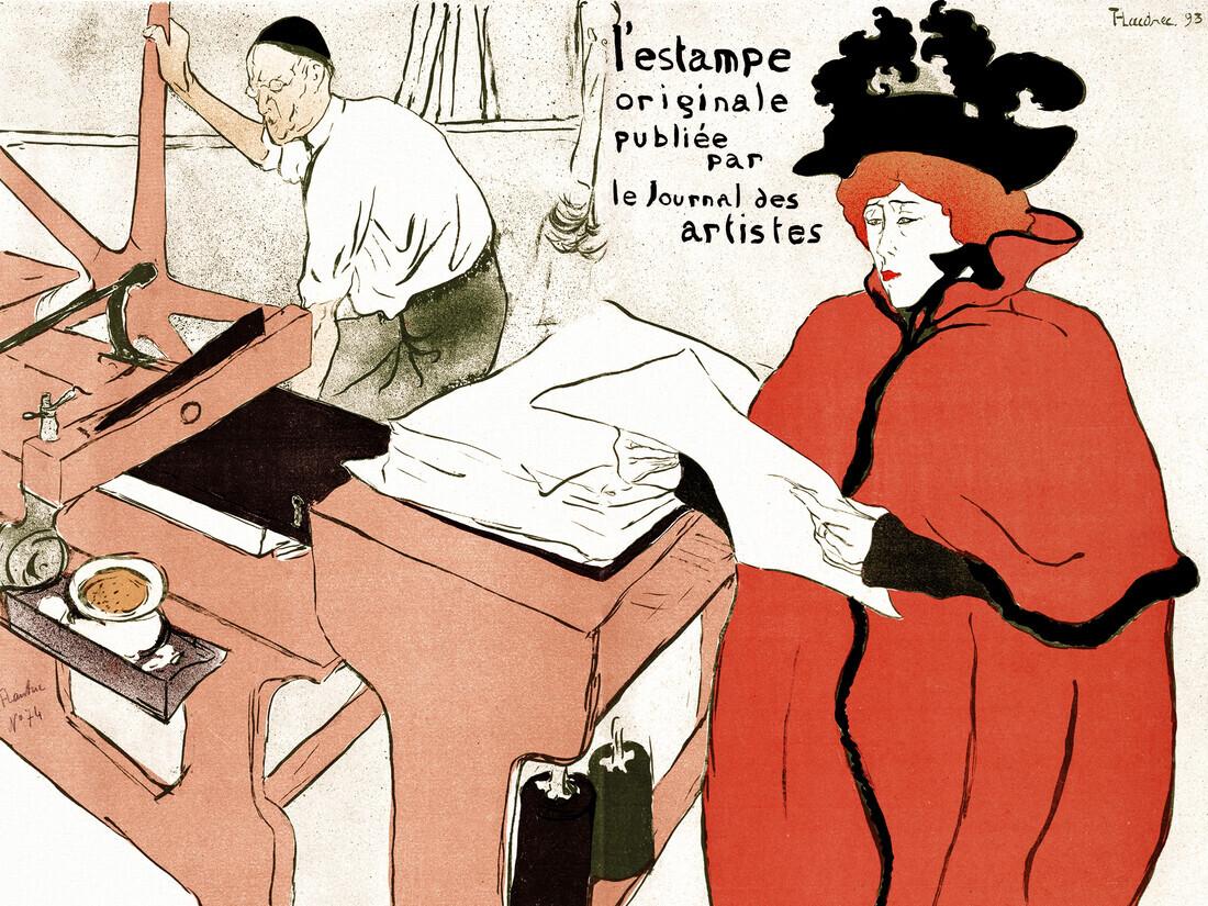 Henri de Toulouse-Lautrec: Cover for  - Fineart photography by Art Classics