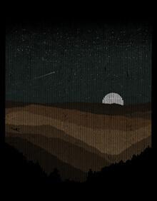 Florent Bodart, Moonrise (sepia) (Deutschland, Europa)
