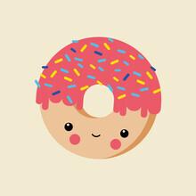 Pia Kolle, Donut – Illustration fürs Kinderzimmer (Deutschland, Europa)