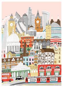 Kaitlin Mechan, London Map (United Kingdom, Europe)