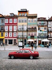 André Alexander, In Portos Altstadt (Portugal, Europa)