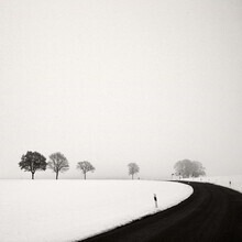 Lena Weisbek, Rural Winter Road (Deutschland, Europa)