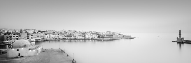 Dennis Wehrmann, Panorama port city Chania (Greece, Europe)