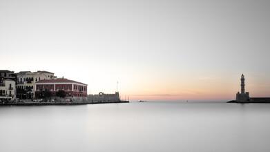 Dennis Wehrmann, Sunset harbour Chania (Greece, Europe)